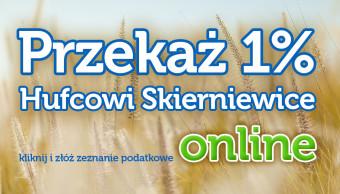 Przekaż Twój 1% Hufcowi Skierniewice – online