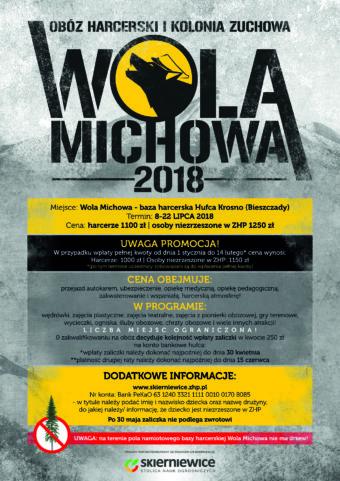 Obóz Hufca – Wola Michowa 2018