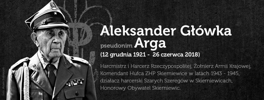 Odszedł od nas Druh hm. Aleksander Główka